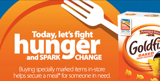 Fight Hunger. Spark Change. with Walmart and Your Local Food Bank -