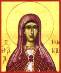Sainte Nonna. Mère de famille à Nazianze († 374)