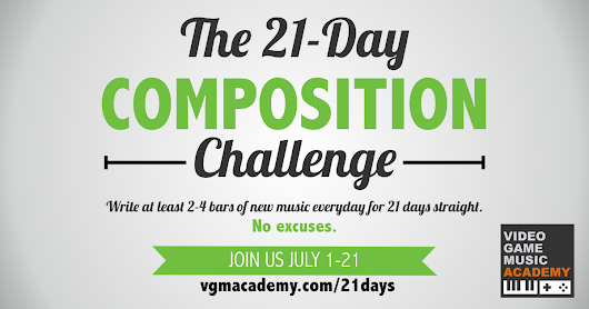 VGM Academy | The 21-Day Composition Challenge
