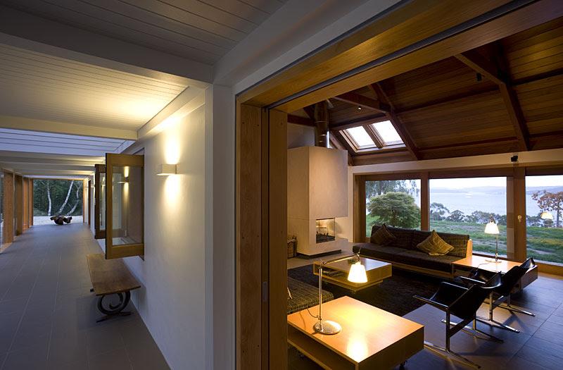 Trial Bay House - Heffernan Button Voss Architects, Arquitectura, diseño, casas