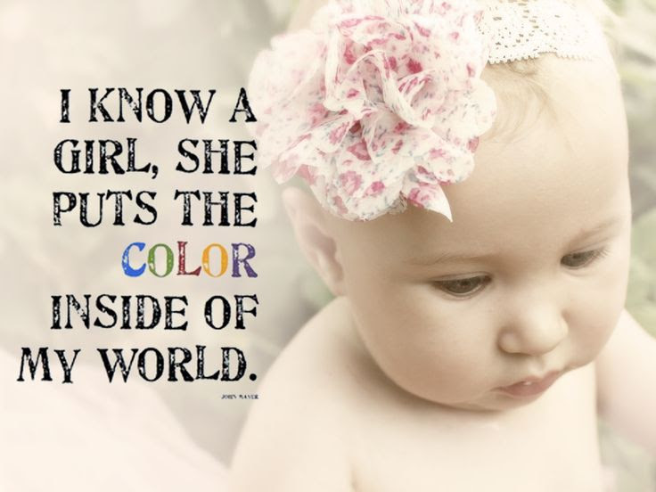 Quotes About Baby Girls 81 Quotes