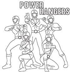 printable power rangers ninja steel coloring pages