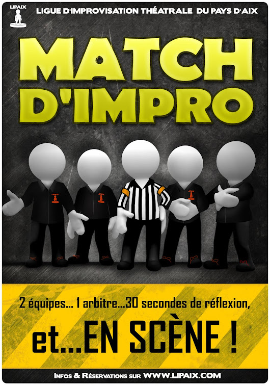Billetterie : Match d'impro Aix-en-Pce vs Grenoble