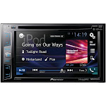 """Pioneer Double DIN Bluetooth In-Dash DVD/CD/AM/FM Car Stereo w/ WVGA Display - 6.2"""""""