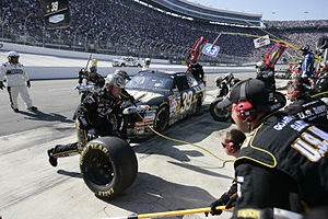 Bristol Motor Speedway - Food City 500 in 2009...