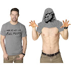 Mens Ask Me Why I Like Full Moons Funny T Shirts Flip Up Werewolf T Shirt