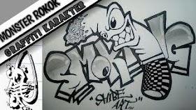 Grafiti Keren Pensil