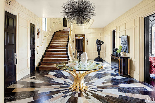 AD's Guide to Patterned Stone Floors | Architectural Digest