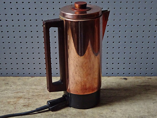 Copper coffee - H is for Home Harbinger