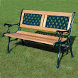 Kingfisher 2 Seater Wooden Bench