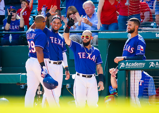 Texas Rangers review: Infield and catcher