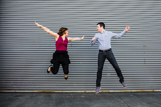West Loop Engagement Session: Talia & Scott | Allison Williams Photography