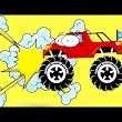 Monster Cars Cartoon Videos For Kids|Toddlers|Children  - YouTube
