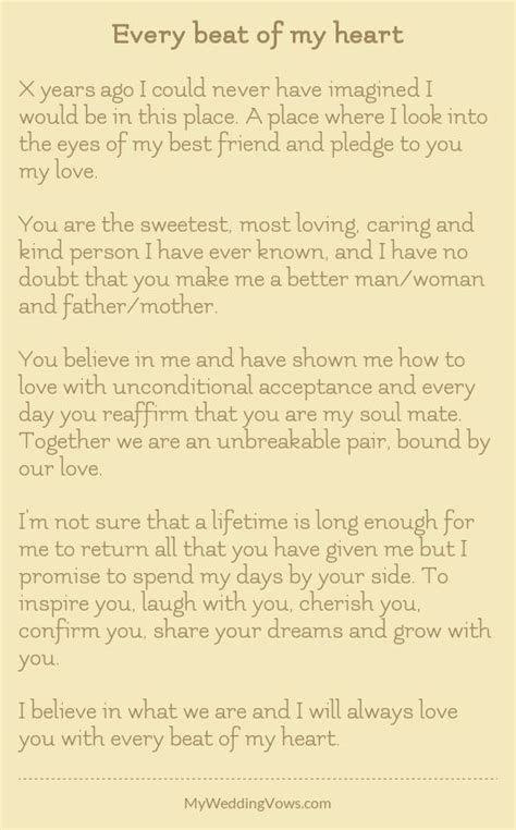 Wedding Quotes : personalized wedding vows best photos