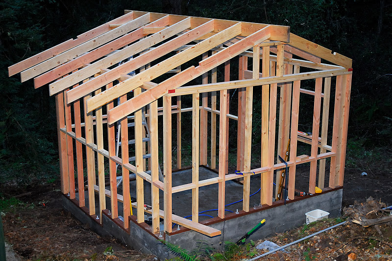 Dugule Rafter Designs For A Shed Roof