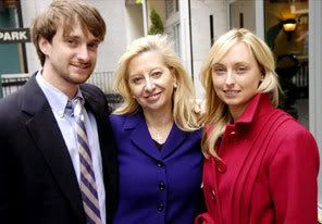 Todd and Heather Tilton, with their mother Nan.