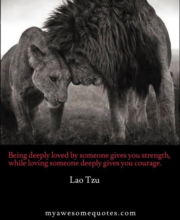 Lao Tzu Quote About Love Awesome Quotes About Life