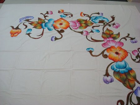 Designs Needed For Fabric Painting On Bed Sheet Indusladies