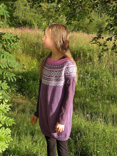 Tunic, knitted by my sister