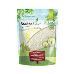 Organic White Jasmine Rice, 50 Pounds - by Food to Live