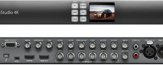 Blackmagic Design Announces New Low Price for UltraStudio 4K Capture and Playback Solution | 3Droundabout