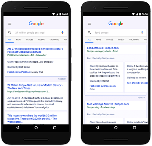 Google launches Fact Check in search results worldwide | Search Engine Watch