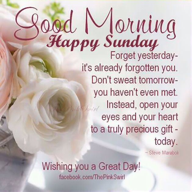 Beautiful Good Morning Happy Sunday Image Pictures Photos And