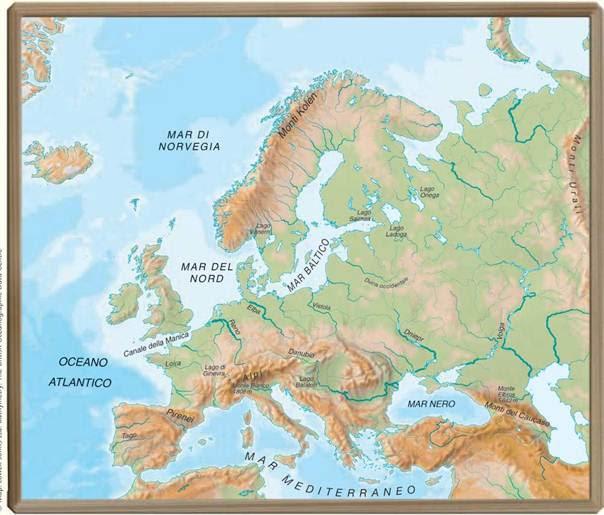 Cartina Muta Europa Monti.Cartina Europa Muta Da Stampare Stampae Colorare