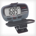 (One-Size, Grey/Black) - Timex Ironman Pedometer with Calories Burned