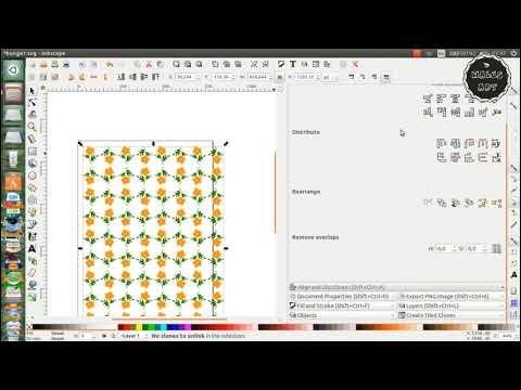 Tutorial Inkscape - Cara Membuat Kalender dengan Inkscape