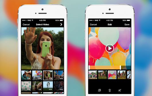 New Vine camera: Shoot, import, edit and share -- fast