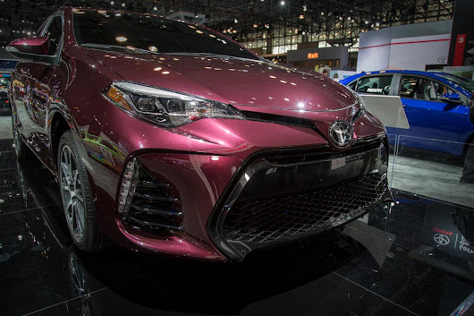 2017 Toyota Corolla: What's Changed