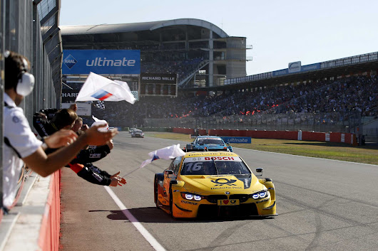 Third place for Timo Glock and BMW in the penultimate DTM race of the year at Hockenheim.