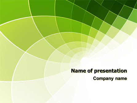 Abstract Green Sections Presentation Template For Powerpoint And Keynote Ppt Star