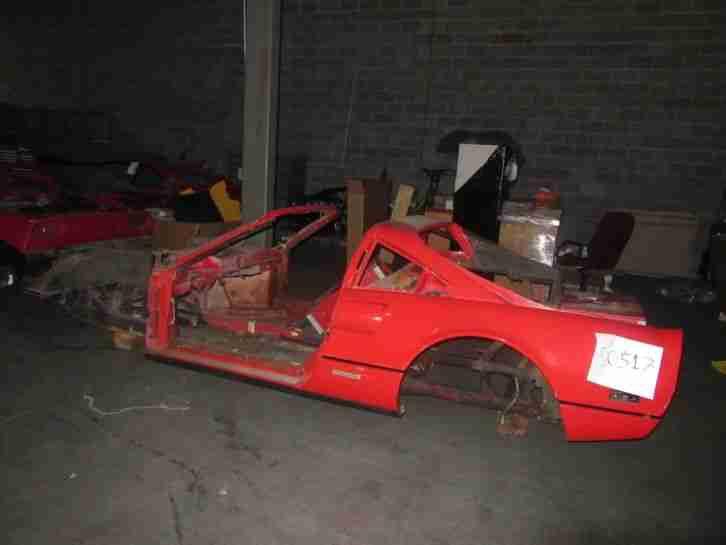 Ferrari 308 Bodyshell Chassis 1985 308 Gts Qv For