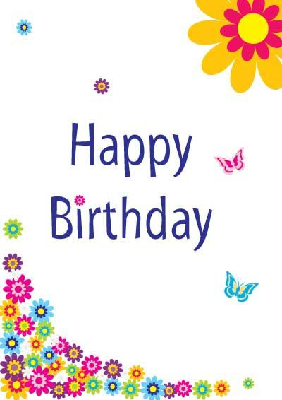 free printable birthday cards for girls | My Free Printable Happy ...