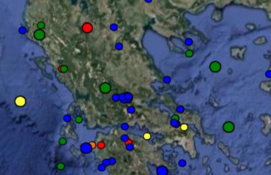 Σεισμός τώρα στην Καστοριά - Στα 5 χιλιόμετρα το εστιακό του βάθος!