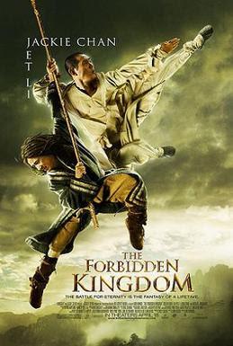 forbidden kingdom movie poster