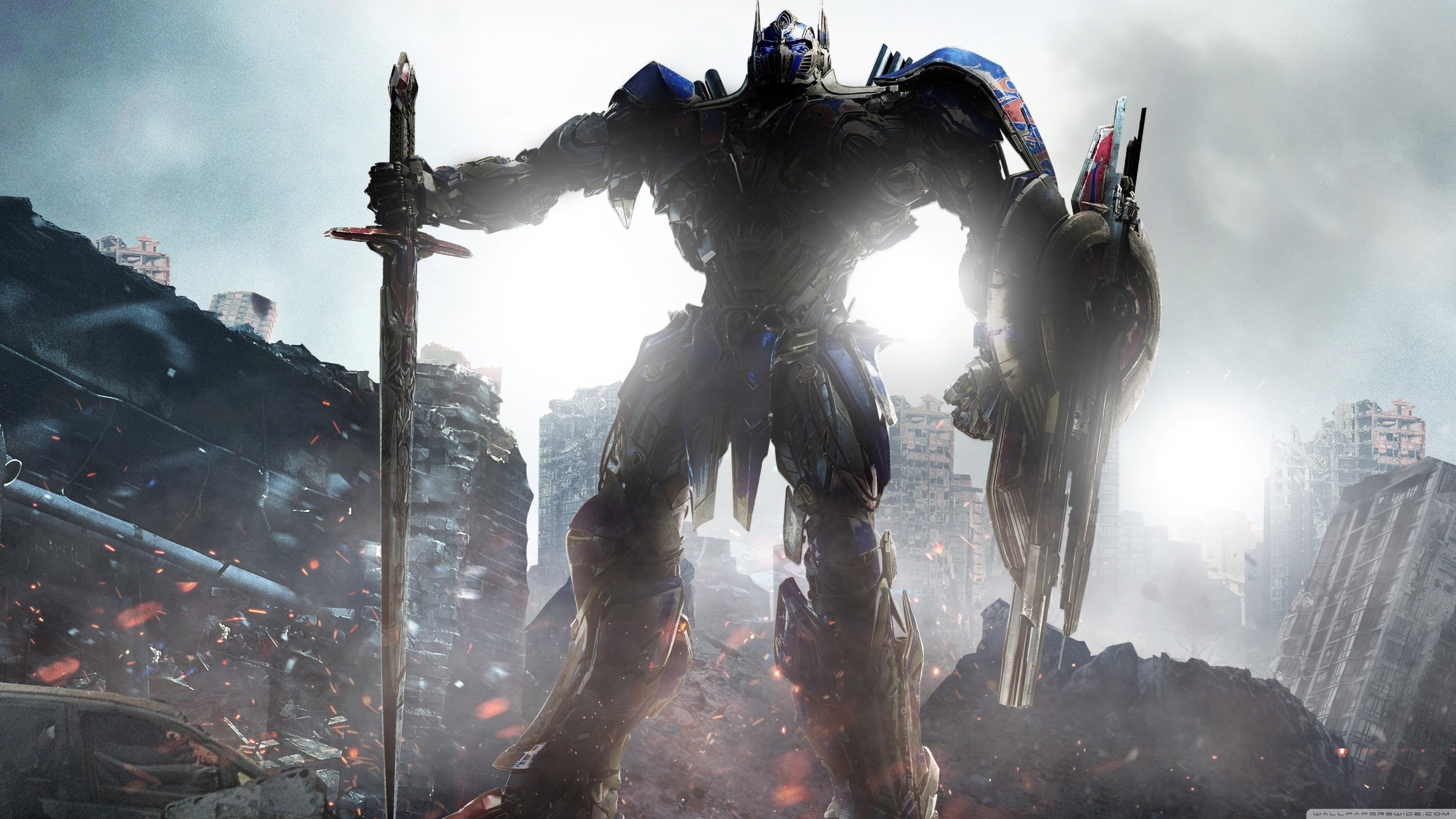 Transformers The Last Knight Optimus Prime 2017 Movie Ultra Hd