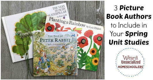 3 Picture Book Authors to Include in Your Spring Unit Studies
