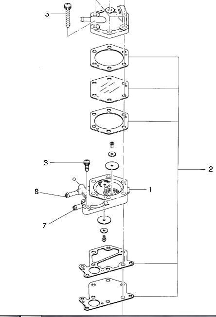 2000 Polari Trailblazer 250 Wiring Diagram
