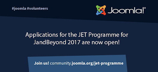 Applications for the JET programme for J and Beyond 2017 are now open