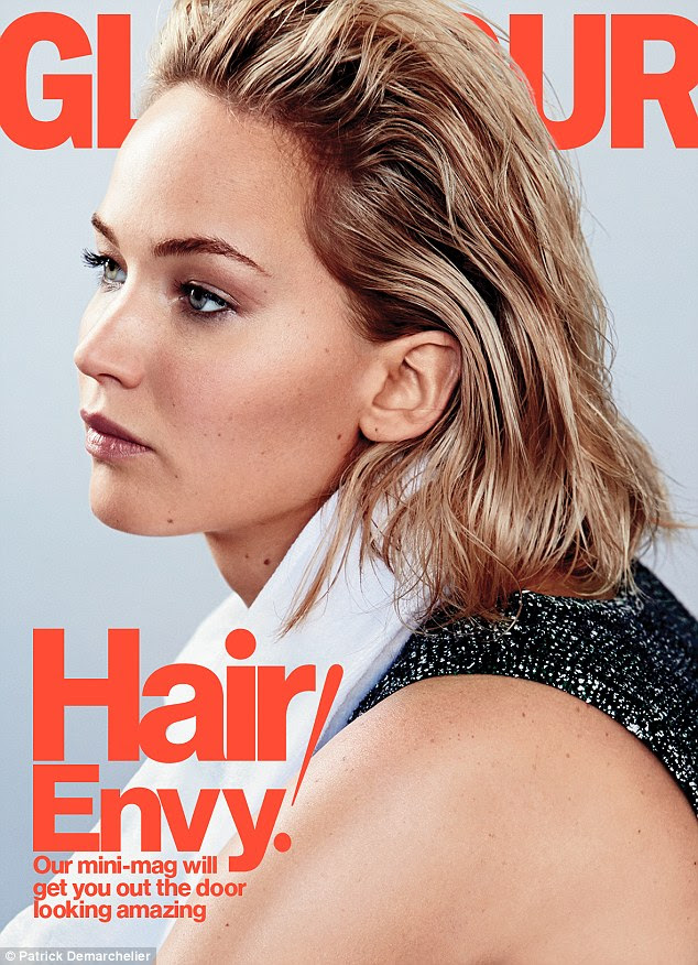 Her ideal:The Silver Linings Playbook standout starts the conversation about fashion by saying looking like a 'slutty power lesbian.' is 'literally what I say to a stylist'