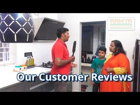 Our Customer Reviews | Mrs. Chitra Guduvanchery Chennai | Ramya Modular ...