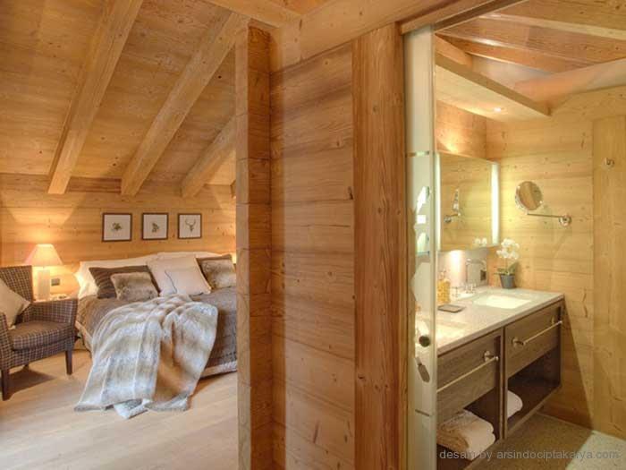 Oscar Living Inspirasi desain rumah kayu  di era modern