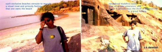 Kuda caves and beach