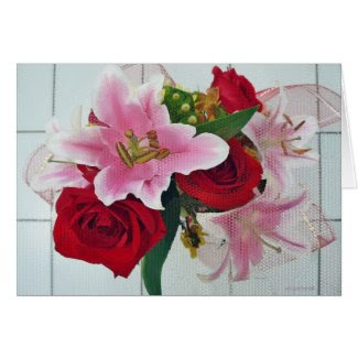 Lily Rose Bouquet Cards