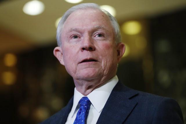 """Résultat de recherche d'images pour """"Jeff Sessions, le futur ministre de la Justice de Donald Trump"""""""
