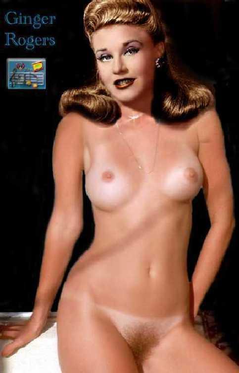 Ginger Rogers  nackt