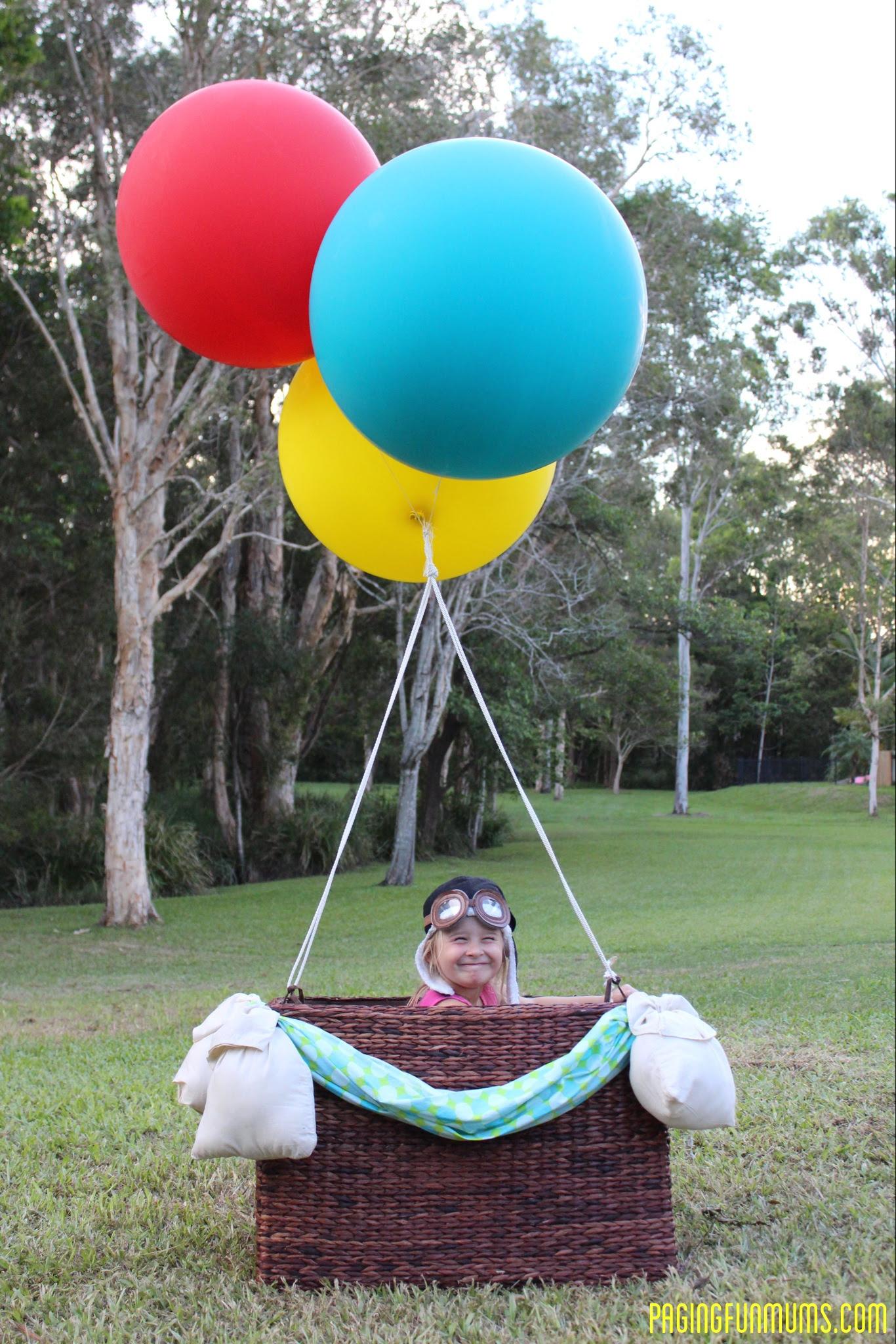 Diy Hot Air Balloon Photo Prop Louise Paging Fun Mums